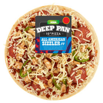 American Sizzler Pizza review, American Sizzler Pizza from ASDA