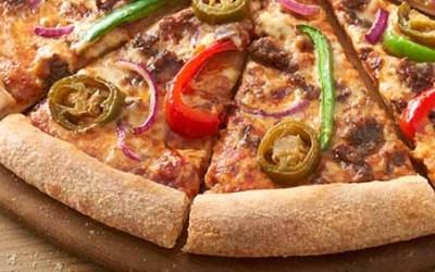 Tabasco Pizza from Domino's