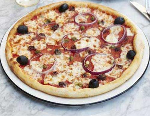 Veneziana Pizza Review, Veneziana Pizza from Pizza Express