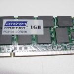 RAM Memory Sticks