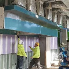 Commercial Kitchen Hood Installation Linens Exhaust The Pki Group