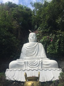 Buddha up Marble Mountain