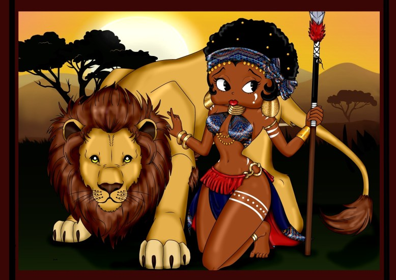 Artist Tranikka Powell: The Lion Queen