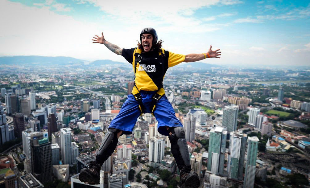 BASE Jumper Explains The Importance Of Accepting Death To Appreciating Life