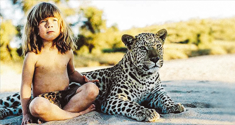 Meet Tippithe reallife Mowgli who spent 10 years living with wild animals