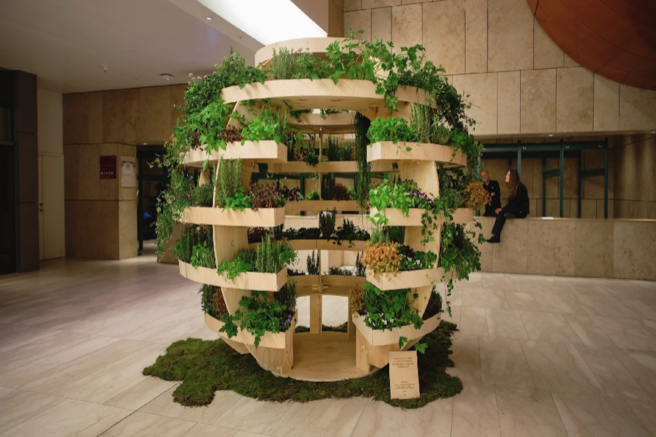 IKEA garden sphere free plans for a sustainable garden