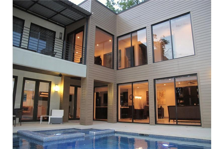House Plan #116-1081 : 4 Bedroom, 2652 Sq Ft Modern