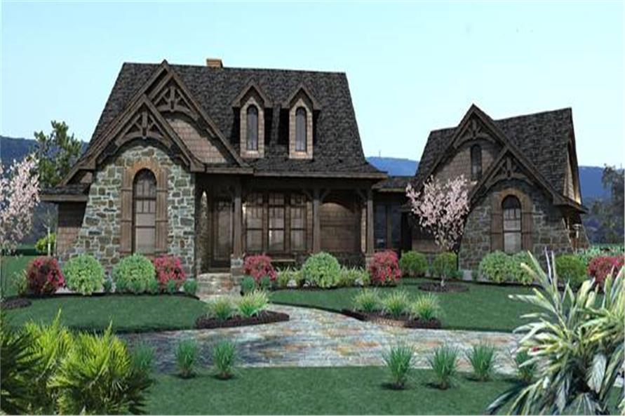 Cottage House Plan #117-1105: 3 Bedrm, 1698 Sq Ft Home