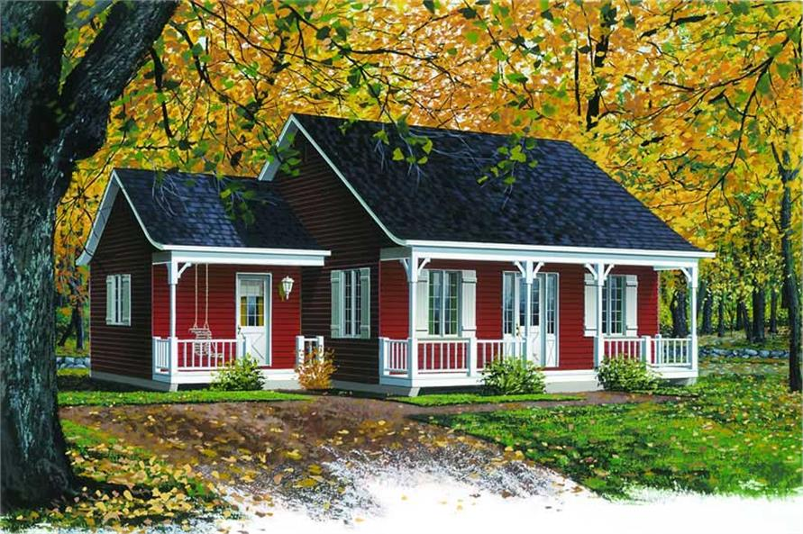 Small, Country, Ranch, Farmhouse House Plans