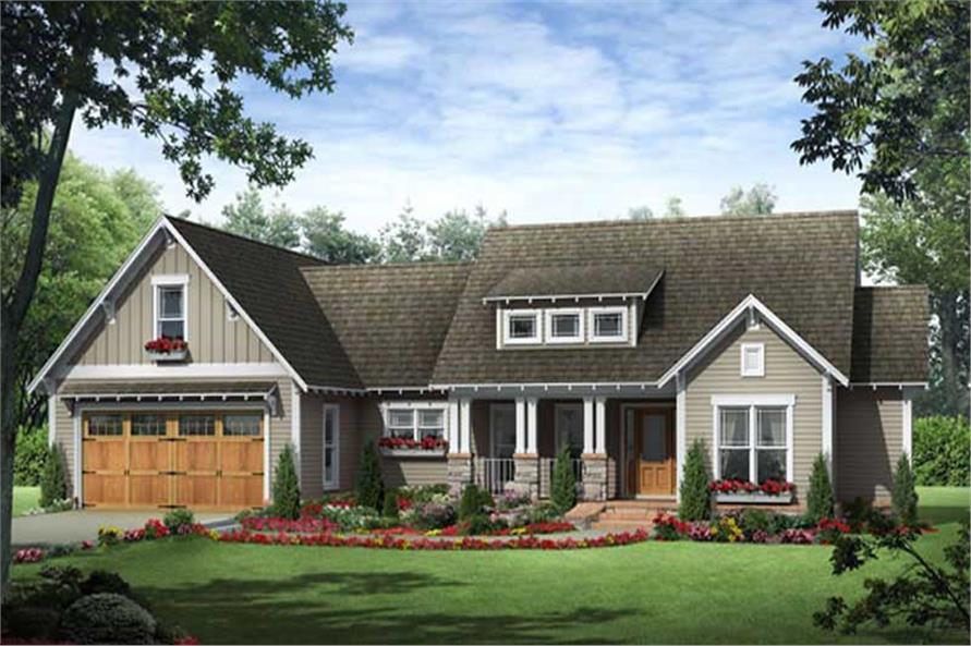 Craftsman Home Plans # 141-1077
