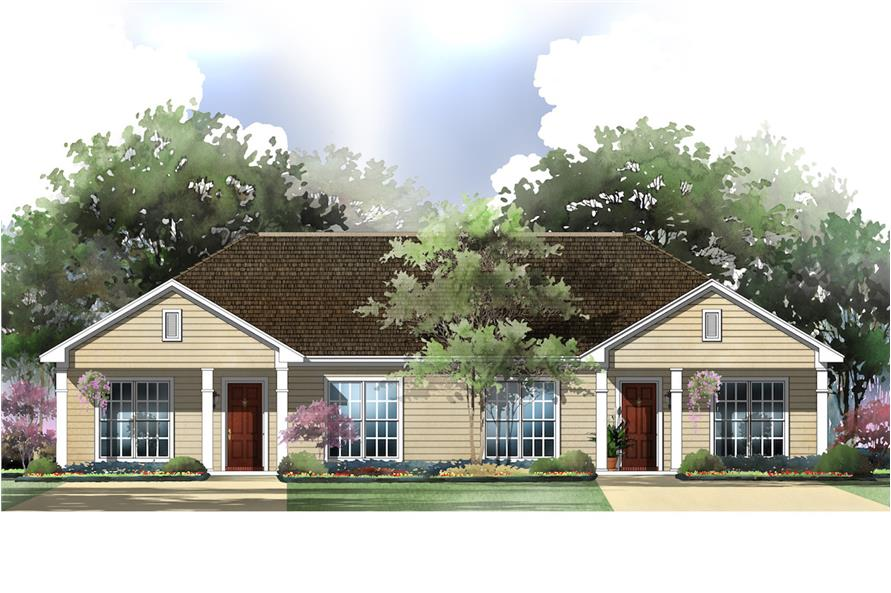 Duplex House Plans For Seniors