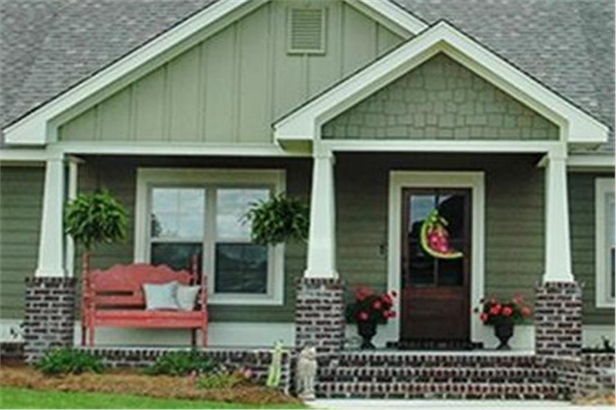 House Plan #142-1067: 3 Bdrm, 1,675 Sq Ft Cottage Home