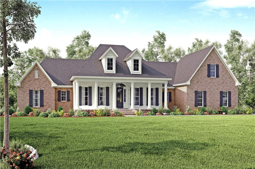 4 Bedrm, 3194 Sq Ft Traditional House Plan #142-1167
