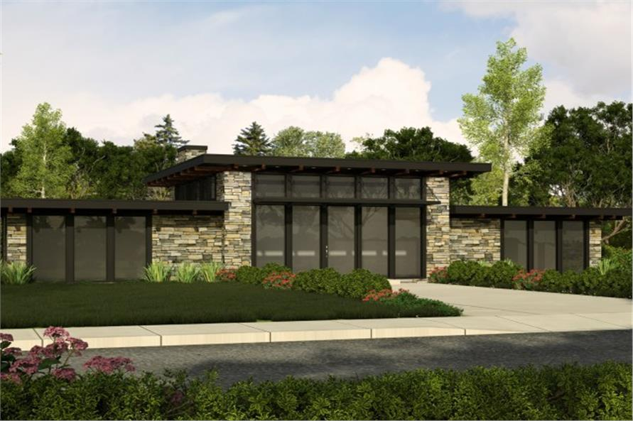 Contemporary,Modern,Small House Plans House Plans