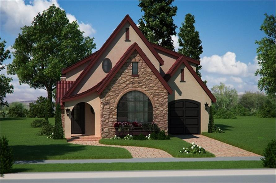 Bungalow,European,Small House Plans,Traditional House