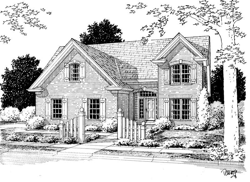 Country, French, Wheelchair Accessible House Plans