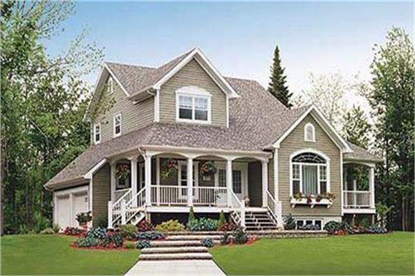 2-Story Country Home Plans