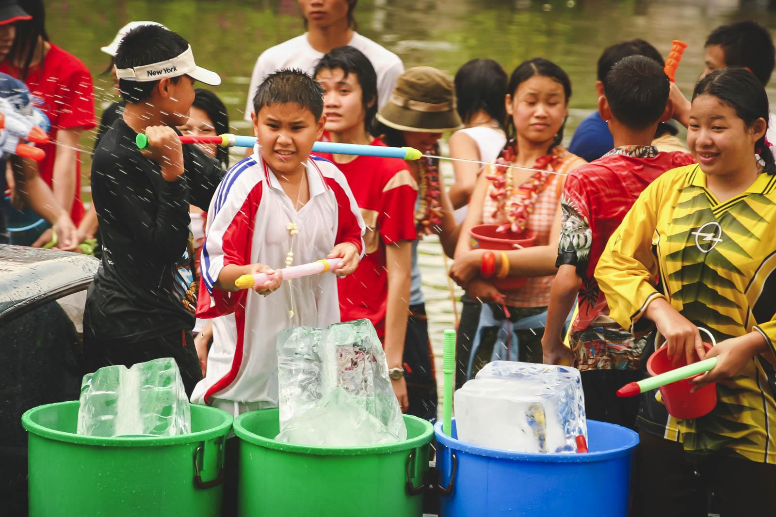 Celebrating Songkran in Chiang Mai