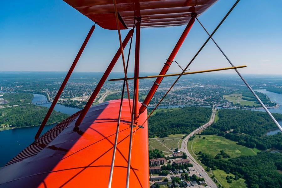 things to do in ottawa bi-plane flight