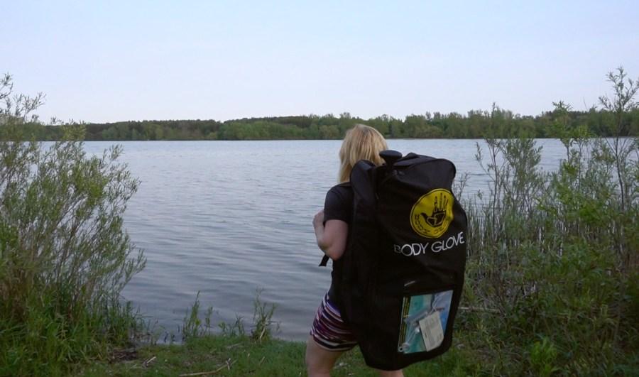 body glove paddleboard backpack