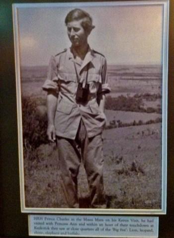 Masai Mara Prince charles