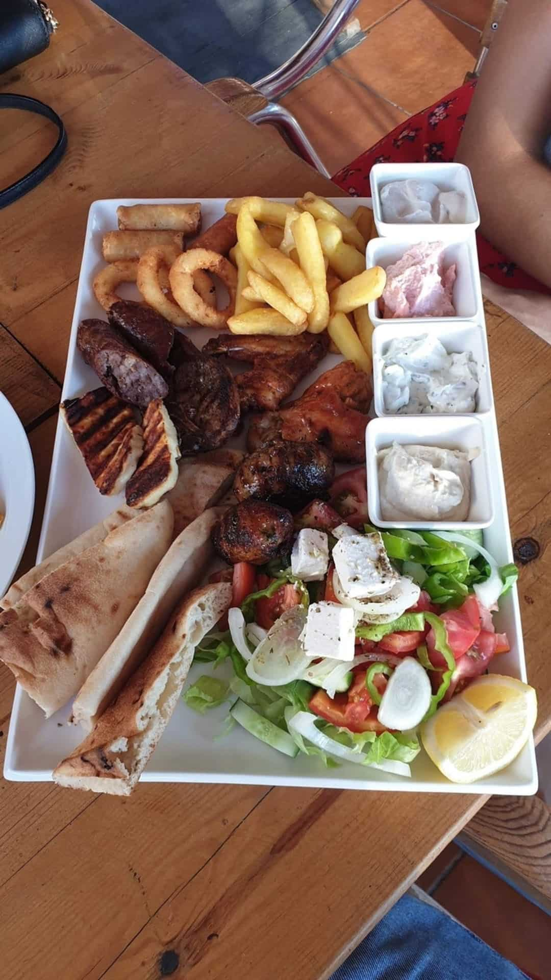 things to do in cyprus mezze plate