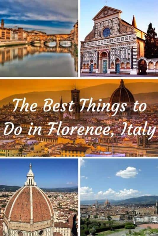 Top 10 Beautiful Things to do in Florence