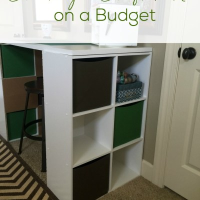 Creating a Craft Table on a Budget