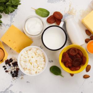 dairy productws have calcium