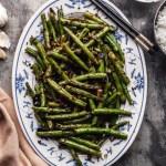 Sichuan Dry Fried Green Beans Vegan The Plant Based Wok