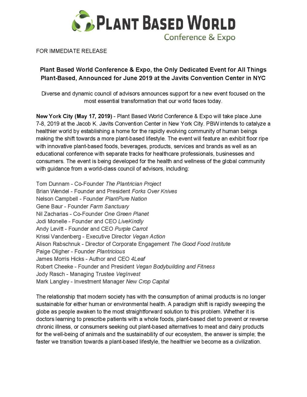 Plant Based World Press Release 5-17-page-001
