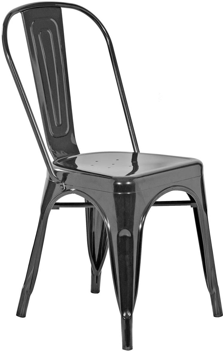 White Bistro Chairs Mmt Pair Of Black Steel Bistro Chairs For Outdoor Use