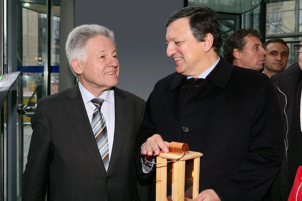 Жозе Мануель Барозу, президент Єврокомісії