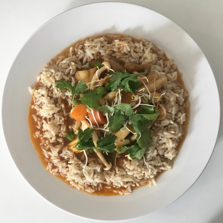 Red Mushroom Curry