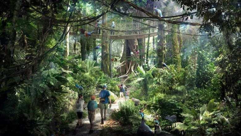 Singapore Fake Rainforest