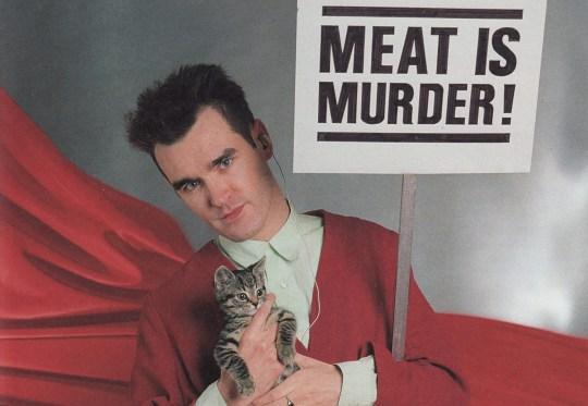 Morrissey vegan