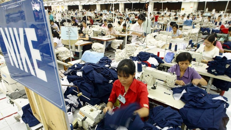 Ticks angry at Nike for using sweatshops