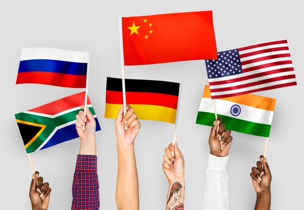 Human National Flags