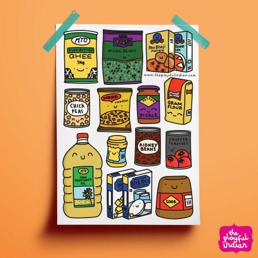 desi cupboard essentials