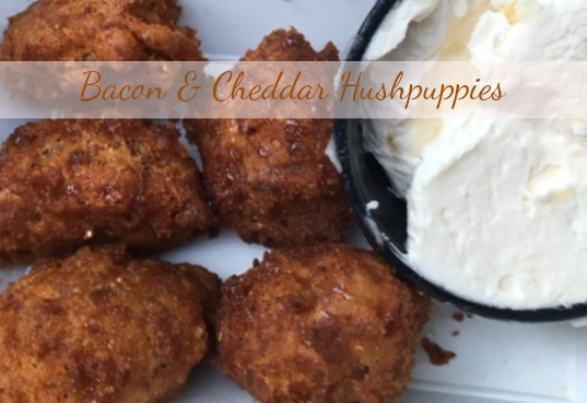 Bacon & Cheddar Hushpuppies