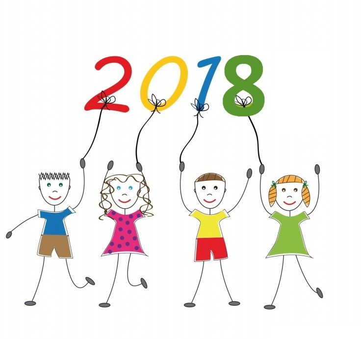 Image result for KID HAPPY NEW YEAR 2018