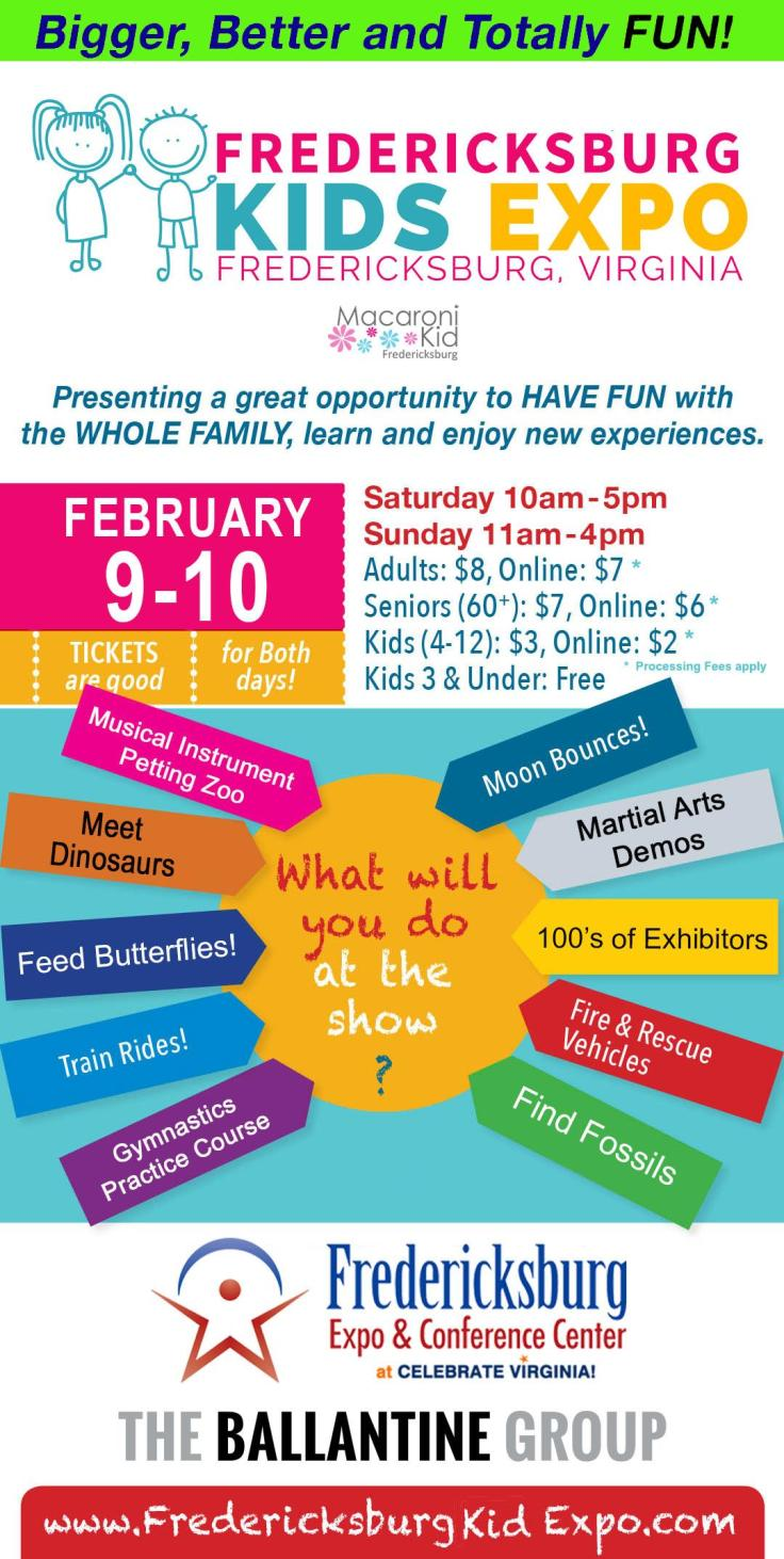KIDS EXPO FLYER