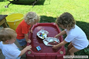 Playing and Learning about Boats with Mother Goose Time