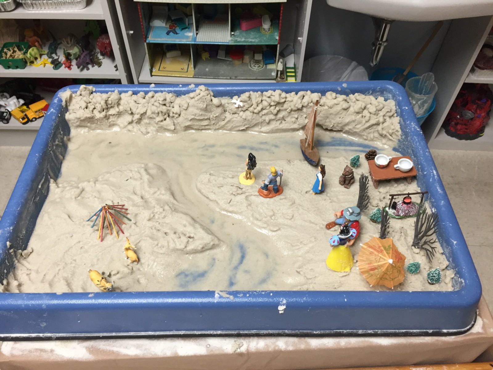 How To Organize A Sandtray Therapy Room