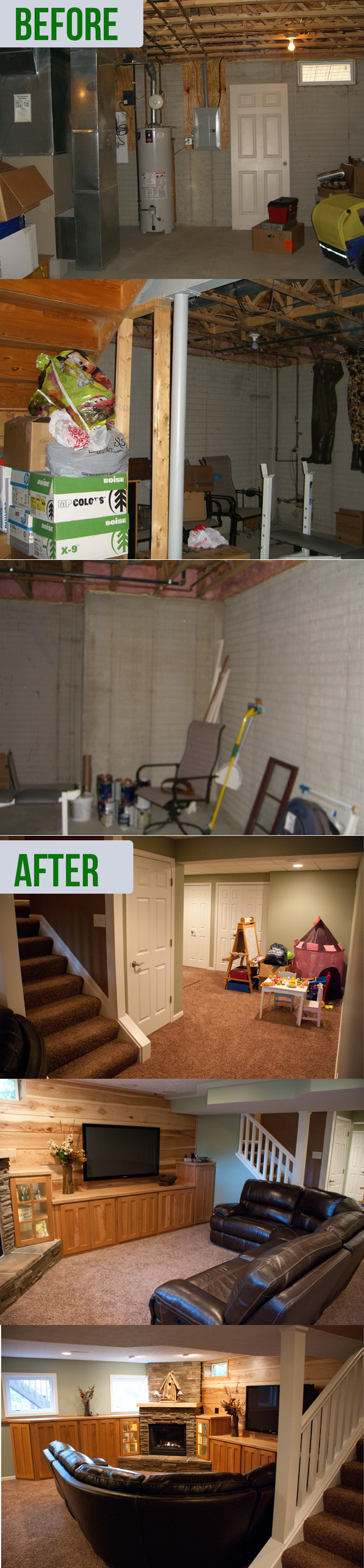 Basement Remodel Before And After Ideas 20 Best Ideas 2020 The Plumed Nest