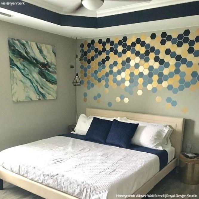 photos above bed ideas