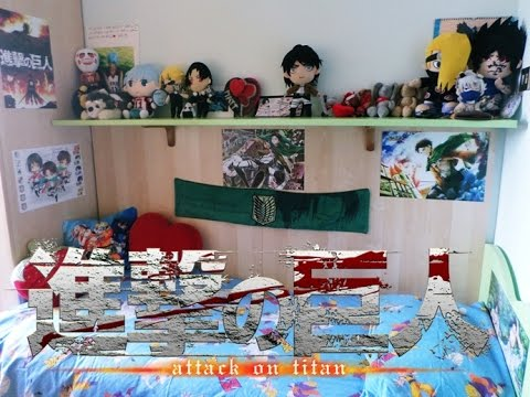anime bedroom decor