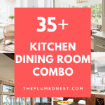 35+ Amazing Kitchen Dining Room Combo Photos