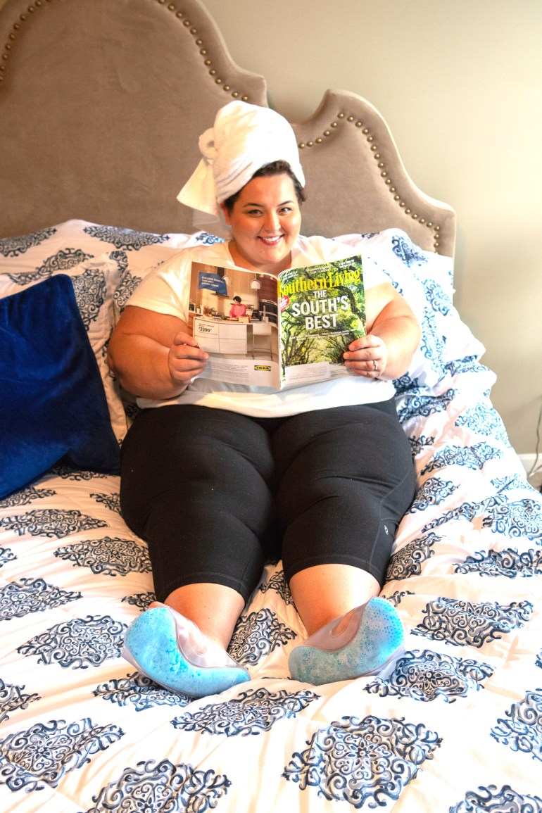 Miranda Schultz - The Plus Life Blog - Ice Slippers 2