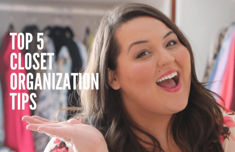 Top 5 Closet Organization Tips From Miranda Schultz of The Plus Life Blog